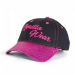 Gorilla Wear Louisiana Glitter Cap - Black/Pink