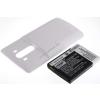 Powery Utángyártott akku LG VS985 fehér 6000mAh