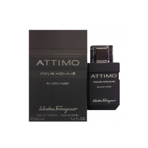 Salvatore Ferragamo Attimo Black Musk EDT 100 ml