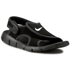 Nike Szandál NIKE - Sunray Adjust 4 (Gs/Ps) 386518 011 Black/White/Anthracite