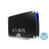 "RaidSonic IB-351STU3S-B 3,5"" SATA USB3.0/eSATA HDD Aluminium/Black"