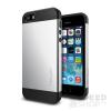 Spigen SGP Slim Armor Apple iPhone SE/5s/5 Satin Silver hátlap tok