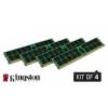 Kingston ValueRAM 32 GB DDR4-2133 Quad-Kit REG ECC KVR21R15D8K4/32