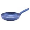 Perfect home 12591 Serpenyő tapadásmentes bevonattal kék márványos 20 cm