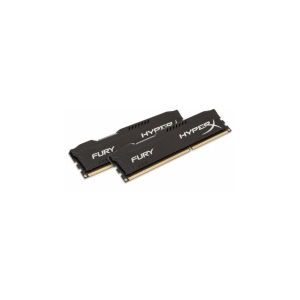 Kingston HyperX Fury Series Black, DDR3-1333, CL9 - 8 GB Kit HX313C9FBK2/8