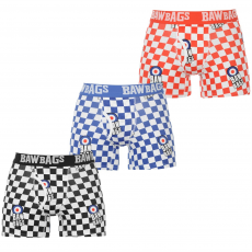 Baw Bags Boxeralsó Baw Bags Check It 3 Pack fér.