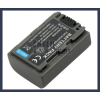 Sony DCR-HC30 7.2V 650mAh utángyártott Lithium-Ion kamera/fényképezőgép akku/akkumulátor