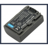 Sony DCR-HC26 7.2V 650mAh utángyártott Lithium-Ion kamera/fényképezőgép akku/akkumulátor