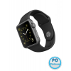 Apple Watch Sport 38mm Space Grey Aluminium Case with Black okosóra