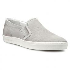 Strellson Félcipő STRELLSON - Evans Slipper Suede 4010001859 Light Grey 801