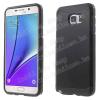 ARMOR mûanyag védõ tok / hátlap - szilikon betétes, ERÕS VÉDELEM! - FEKETE - SAMSUNG SM-G928 Galaxy S6. Edge +