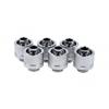 AlphaCool Eiszapfen 16 / 10mm szorítógyûrûs csatlakozó G1 / 4 - Chrome Sixpack