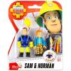 SAM a tűzoltó figurák - Sam és Norman