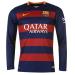Fc Barcelona hazai hosszú ujjú gyerek mez + nadrág 2015/2016