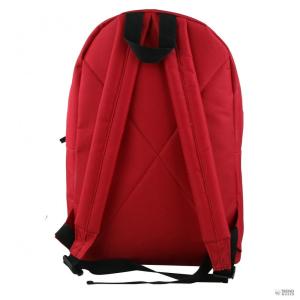 Miss Lulu London E1401 - Miss Lulu nagyméretű Plain Unisex férfi női hátizsák táska piros