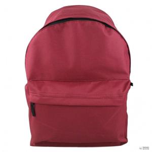 Miss Lulu London E1401 - Miss Lulu nagyméretű Plain Unisex férfi női hátizsák táska sötét piros