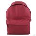 E1401 - Miss Lulu London nagyméretűUnisex hátizsák táska sötét piros