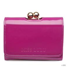 LP1688 - Miss Lulu London kicsi Ball kapocsmattinee pénztárca lila