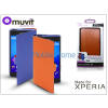 Made for Xperia MUVIT Sony Xperia Z5 (E6653) flipes tok - Made for Xperia Muvit Chameleon 2in1 Folio - black