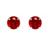Ezüst fülbevaló cirkóniával (ES727)
