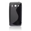 Huawei Ascend G510, TPU szilikon tok, S-Line, fekete