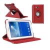 Samsung Galaxy Tab 3 Lite 7.0 SM-T110, mappa tok, elforgatható (360°) piros