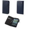 Samsung Galaxy Core 2 Duos G355, Oldalra nyíló tok, Smart Case Plus, sötétkék