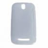 HTC Desire SV, TPU szilikon tok, S-Line, átlátszó