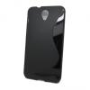 Alcatel One Touch Idol 2 (6037), TPU szilikon tok, S-Line, fekete