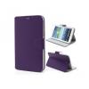 Bőrtok, Samsung Galaxy Tab 3 7.0 SM-T210 / P3200, mappa tok, bankkártya méretű tartókkal, piros