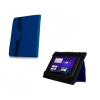 ORBI bőrtok, univerzális, Acer / Modecom / Overmax, 7-8 coll, tablet mappa tok, kék