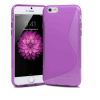 Apple iPhone 6 Plus / 6S Plus, TPU szilikon tok, S-Line, lila
