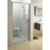 Ravak Pivot PDOP1-80 egyrészes kifelé nyíló zuhanyajtó krómhatású kerettel, transparent biztonsági üveggel