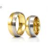 Bicolor arany karikgyűrű