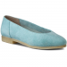 Clarks Félcipő CLARKS - Ffion Ivy 261178234 Light Blue