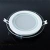 Üveg keretes LED panel (kör) - 18 Watt - hideg fényű