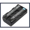 Sony ES6500V 7.2V 2000mAh utángyártott Lithium-Ion kamera/fényképezőgép akku/akkumulátor