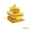 Fascinations Metal Earth Kinkaku-ji -aranyszínű
