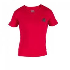 Gorilla Wear Essential V-Neck T-Shirt - Red