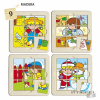 Learning Resources Zaro és Nita puzzle - 9 darabos
