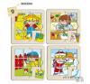 Learning Resources Zaro és Nita puzzle - 9 darabos puzzle, kirakós