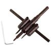 Extol körkivágó gipszkartonhoz, 2db 30-120mm, állítható acélkéssel; (fához, gumihoz, műanyaghoz is használható)