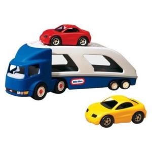Little Tikes Teherautó pótkocsival Little Tikes 170430 autók szállítására