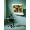 Dönthető fali vetítővászon, 170 x 170 cm