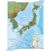 Stiefel Japán és Korea, domborzati (angol v. német)