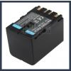 JVC GR-DVL257 7.2V 3400mAh utángyártott Lithium-Ion kamera/fényképezőgép akku/akkumulátor