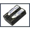 Samsung SC-L650 7.4V 1500mAh utángyártott Lithium-Ion kamera/fényképezőgép akku/akkumulátor