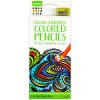 Crayola Kétvégű színes ceruza hegyezővel - 12 darabos