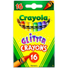 Crayola Csillámos viaszkréta - 16 darabos