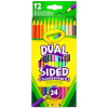 Crayola Kétvégű színes ceruza - 12 darabos